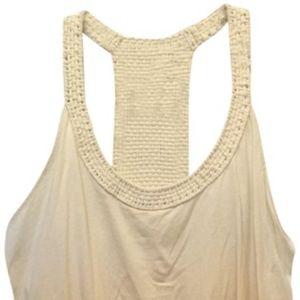 Lauren Ralph Lauren Cream Tank Top Size M  NWT